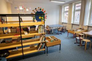 Schulbücherei Foto