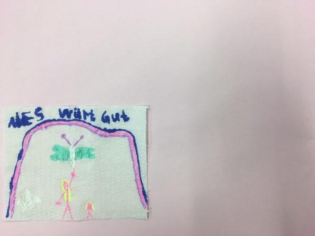 Das Letzte seiner Art-Toilettenpapierkunst
